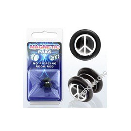 Faux Piercing Plug Pis and Love